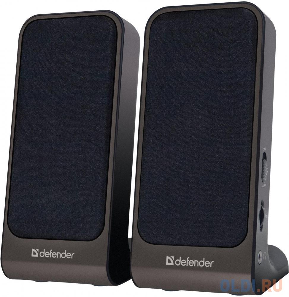 Колонки DEFENDER SPK-220\\225 2x2 Вт, USB пит, раз. д. науш.