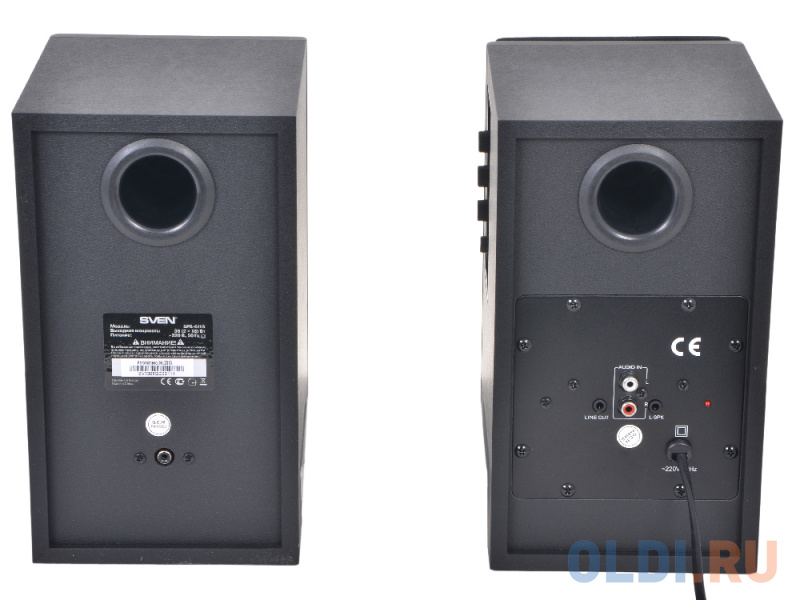 Колонки Sven SPS-611 S <36W Black