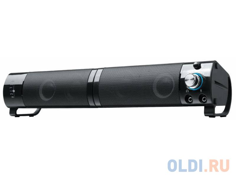 Колонки Oklick OK-150 2.0 black 6W портативные
