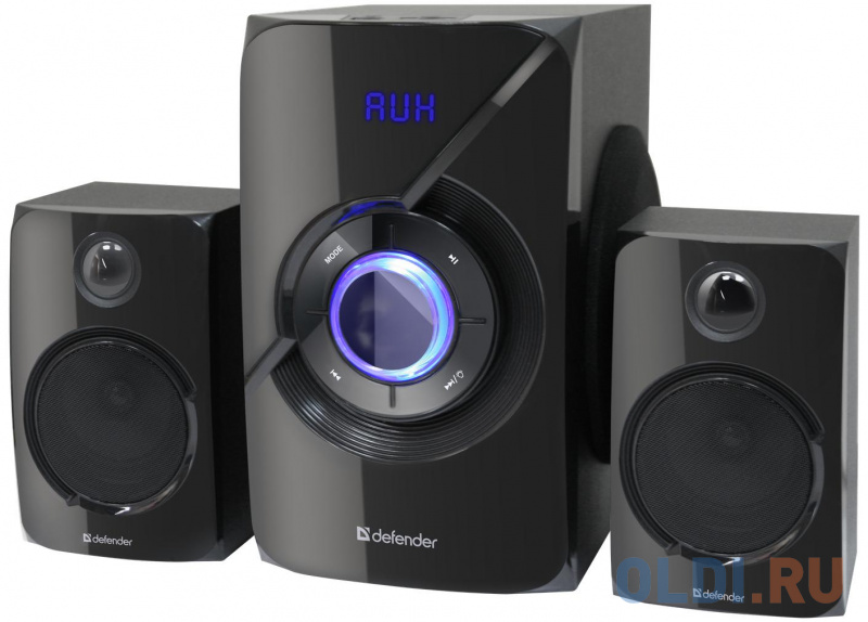 Фото - Колонки DEFENDER X420 чёрный 2x12 Вт +16 Вт, 20 — 20 000 Гц, Bluetooth, FM/MP3/SD/USB, ДУ колонки defender x420 чёрный 2x12 вт 16 вт 20 20 000 гц bluetooth fm mp3 sd usb ду