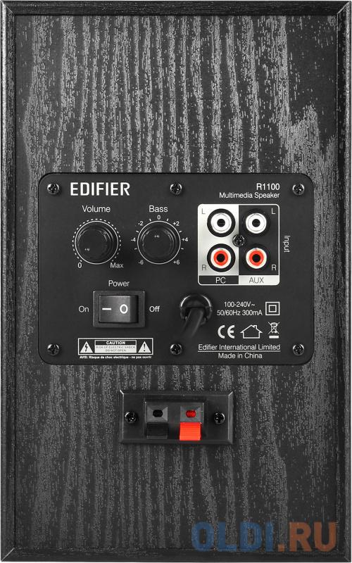 Колонки Edifier R1100 Black 2.0, 21Wx2, RMS