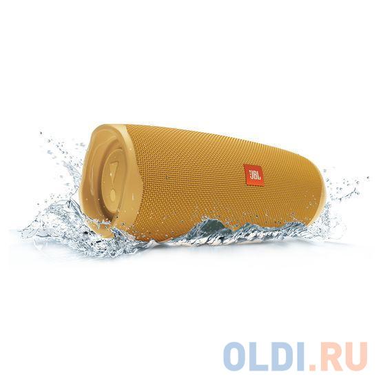 Колонки JBL Charge 4 JBLCHARGE4YEL, желтый (30 Вт,Bluetooth, mini Jack, USB,7500mAh)