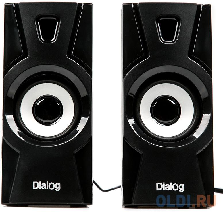 Картинка для Колонки Dialog Stride AST-10UP черные 2.0 (10W RMS, USB)
