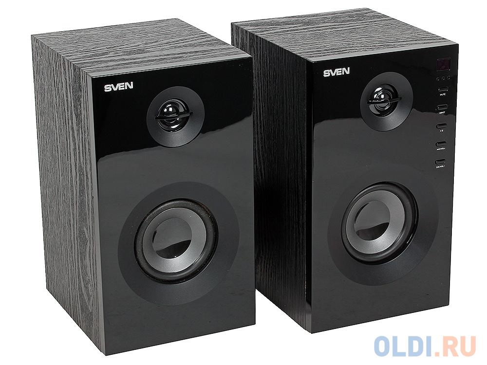 Колонки Sven SPS-615 2x10 Вт черный колонки sven sps 605 2 0 черный