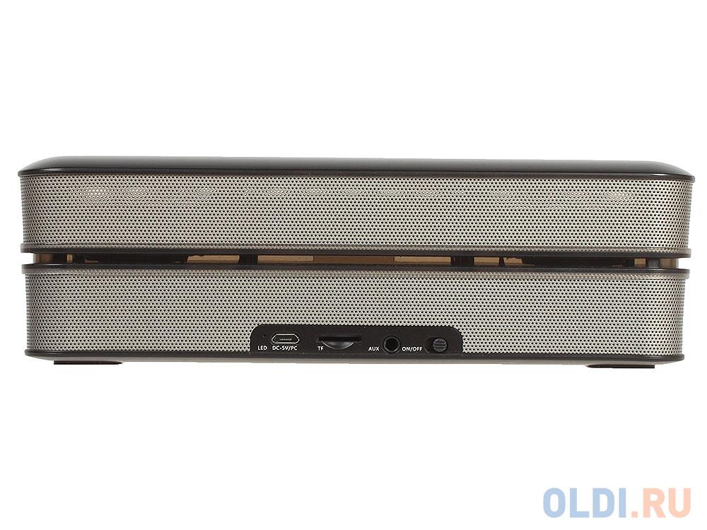 Колонки Microlab MD663BT Портативная, black (6W RMS, Bluetooth, microSD, FM)