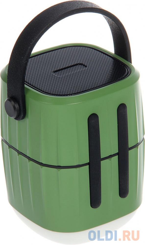 Колонки RITMIX RPB-8800LT green+black (8800 мАч,зашита IP65, 3 режима фонаря,USB)