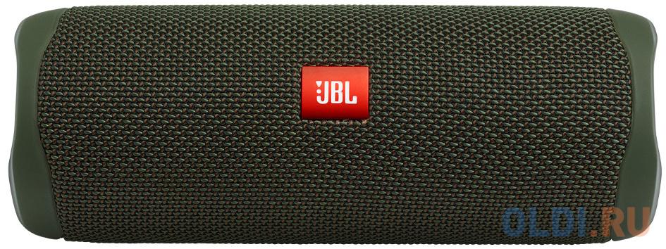 Динамик JBL Портативная акустическая система JBL Flip 5 зеленый