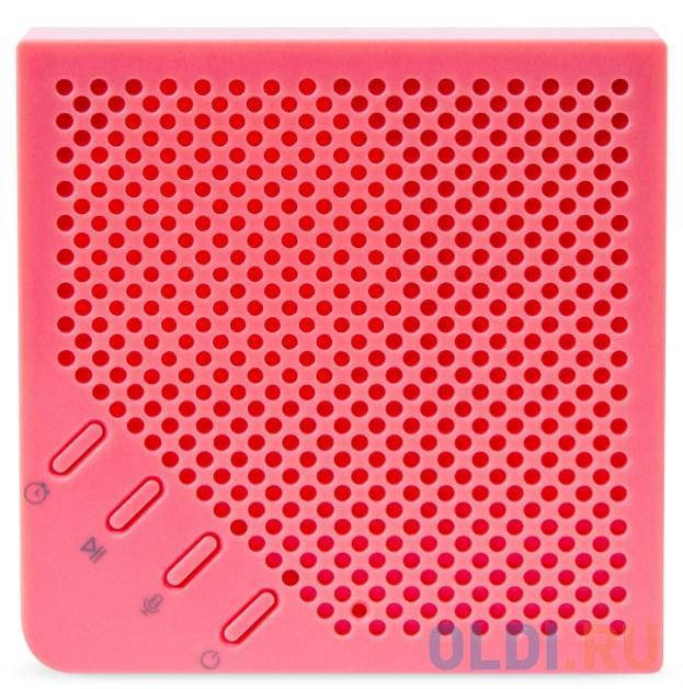 Фото - Портативная акустика Rombica MySound Note. Цвет: розовый. портативная акустика rombica mysound capella цвет зеленый