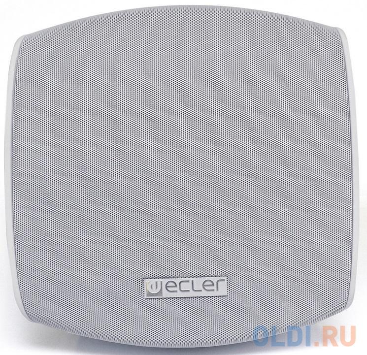Акустическая система ECLER [AUDEO 106P WH] Комплект из 2 АС: активная AUDEO 106 (master) + возм (slave) подкл, кабель 3 м. Мощность 2x20 Вт RMS, AUTO STANDBY. Низкоомный режим работы. Крепл в компл. Цвет белый (Комп. 2шт - 1 место). Цена за набор.