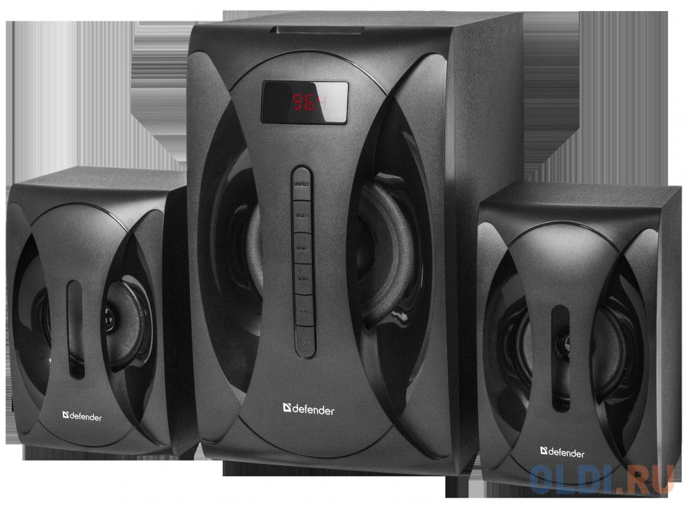 Фото - Колонки DEFENDER G40 чёрный 2.1,40Вт, Bluetooth, FM/MP3/SD/USB колонки defender x420 чёрный 2x12 вт 16 вт 20 20 000 гц bluetooth fm mp3 sd usb ду