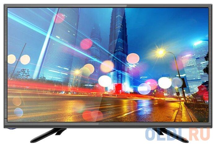 Телевизор LED 22 Erisson 22FLM8000T2 черный 1920x1080 50 Гц HDMI USB телевизор led 50 bbk 50lem 1056 fts2c черный 1920x1080 50 гц vga usb