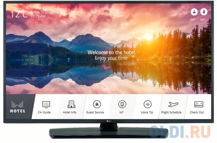 Телевизор LED 55 LG 55UT661H черный 3840x2160 Smart TV RS-232C RJ-45 телевизор led 22 lg 22sm3g b черный 1920x1080 hdmi rj 45