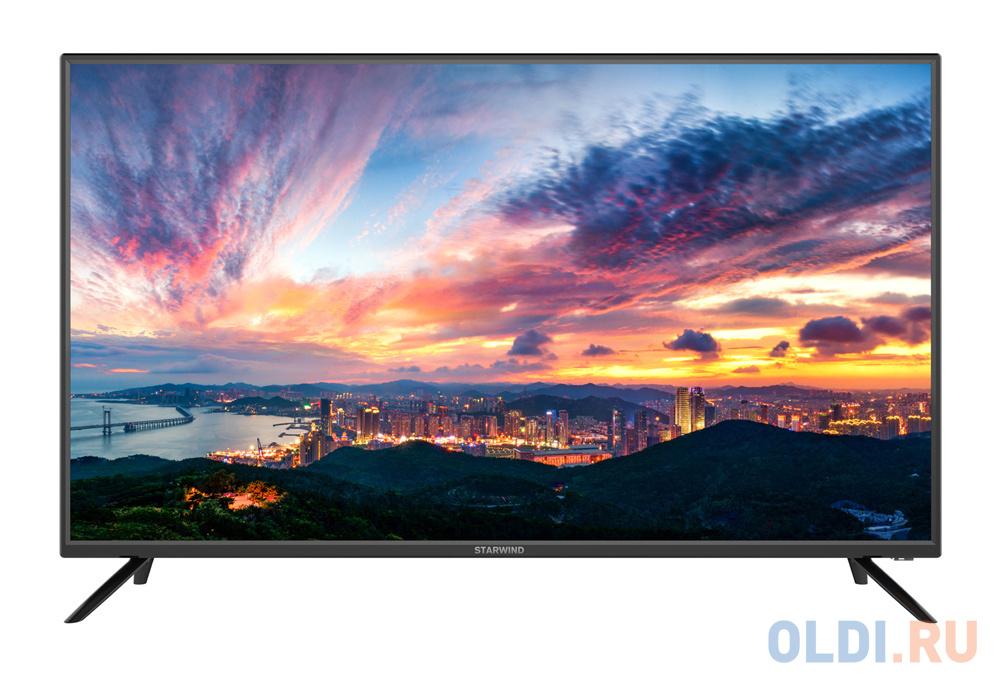 Телевизор LED Starwind 40 SW-LED40SA301 черный/FULL HD/60Hz/DVB-T2/DVB-C/DVB-S2/USB/WiFi/Smart TV (RUS) телевизор oled lg 78 oled77c9pla черный ultra hd 100hz dvb t2 dvb c dvb s2 usb wifi smart tv rus