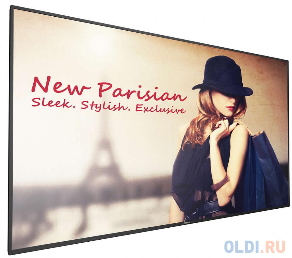 Телевизор LED 49 Philips 49BDL4050D/00 черный 1920x1080 DisplayPort USB VGA RJ-45 RS-232C телевизор led 22 lg 22sm3g b черный 1920x1080 hdmi rj 45