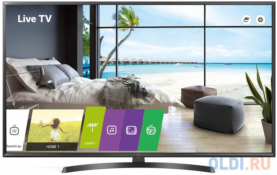 Телевизор LED 65 LG 65UT661H черный 3840x2160 RS-232C RJ-45 телевизор led 22 lg 22sm3g b черный 1920x1080 hdmi rj 45