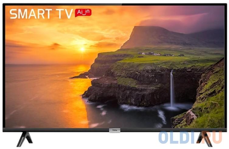 Фото - Телевизор 39 TCL L40S6500 черный 1920x1080 60 Гц Wi-Fi Smart TV USB RJ-45 Bluetooth Для наушников телевизор led 32 samsung ue32t4500auxru черный 1366x768 60 гц smart tv wi fi usb rj 45