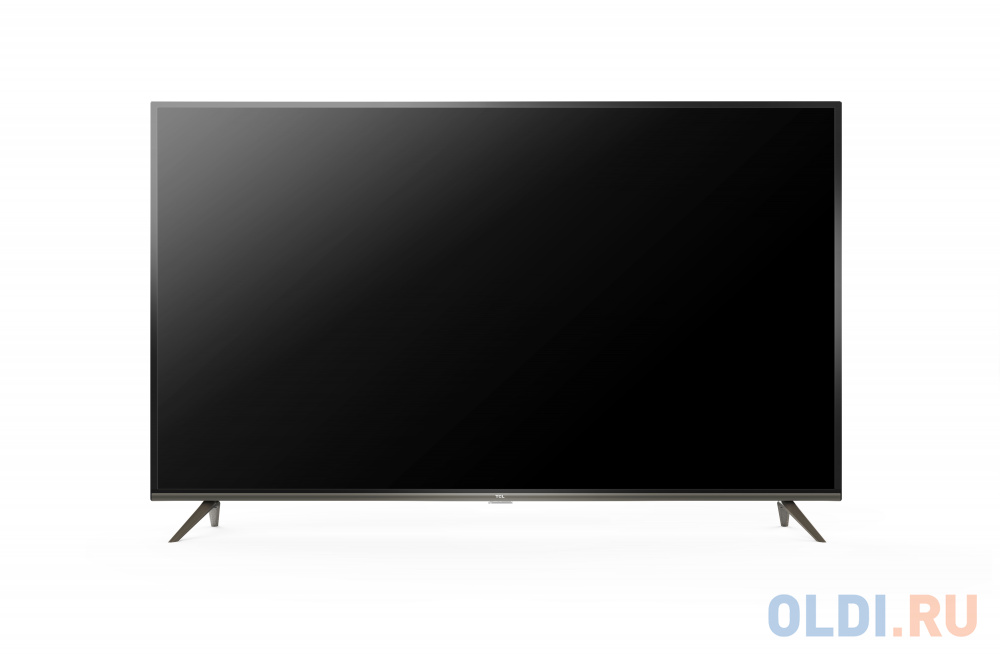 "Телевизор LED TCL 65"" L65P8US стальной/Ultra HD/60Hz/DVB-T2/DVB-C/DVB-S2/USB/WiFi/Smart TV (RUS)"