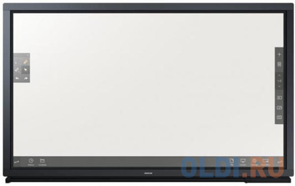 Плазменный телевизор LED 65 Samsung DM65E черный 1920x1080 75 Гц Wi-Fi DVI 2 х HDMI DisplayPort RJ-45 RS-232C USB SD LH65DMEPLGC/CI телевизор led 48 nec multisync v484 черный 1920x1080 60 гц vga hdmi 1 x dvi d line in rs 232c usb displayport 07an1gbn