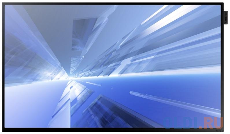 Телевизор LED 32 Samsung DB32D черный 1920x1080 75 Гц Wi-Fi VGA RJ-45 HDMI USB телевизор led 50 bbk 50lem 1056 fts2c черный 1920x1080 50 гц vga usb
