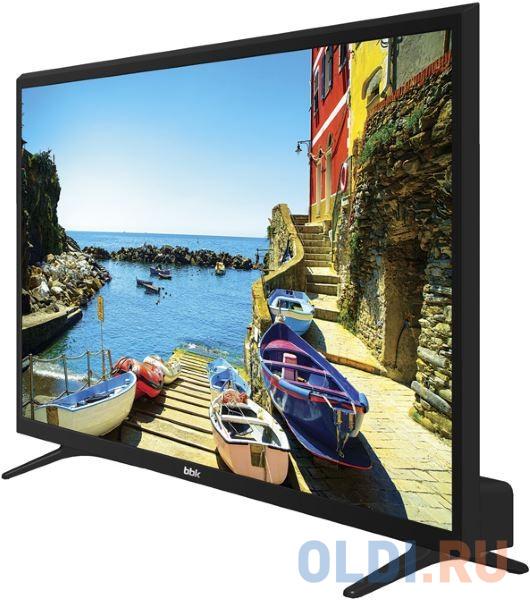 Телевизор LED BBK 39 39LEX-7168/TS2C черный/HD READY/50Hz/DVB-T2/DVB-C/DVB-S2/USB/WiFi/Smart TV (RUS) led телевизор samsung ue24h4080au hd ready
