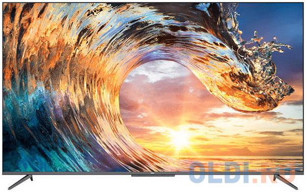 Телевизор LED TCL 65 65P717 черный/Ultra HD/60Hz/DVB-T/DVB-T2/DVB-C/DVB-S/DVB-S2/USB/WiFi/Smart TV (RUS)