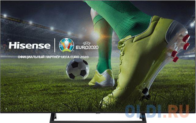 Фото - Телевизор LED Hisense 50 50AE7200F черный/Ultra HD/60Hz/DVB-T/DVB-T2/DVB-C/DVB-S/DVB-S2/USB/WiFi/Smart TV (RUS) телевизор lg 49uk6300 led 49 black 16 9 3840x2160 smart tv usb 3xhdmi av wi fi rj 45 dvb t t2 c s s2