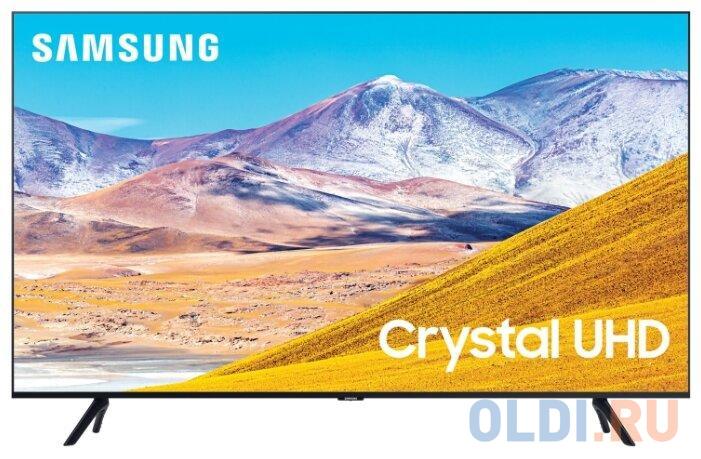 Фото - Телевизор LED 50 Samsung UE50TU8000UXRU черный 3840x2160 60 Гц Wi-Fi Smart TV 3 х HDMI 2 х USB RJ-45 Bluetooth Оптический выход CI+ телевизор led 32 samsung ue32t4500auxru черный 1366x768 60 гц smart tv wi fi usb rj 45