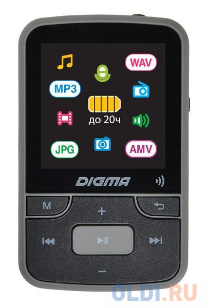 Плеер Hi-Fi Flash Digma Z4 BT 16Gb черный/1.5