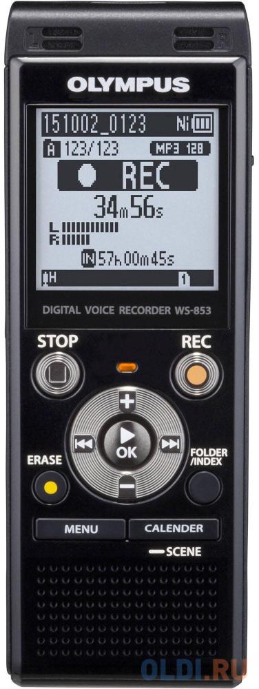 Диктофон Olympus WS-853 Black 8 Гб MicroSD USB.