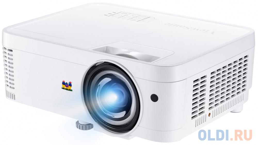 Фото - Проектор ViewSonic PS501W 1280x800 22000:1 белый проектор viewsonic ps750w dlp 3300lm 10000 1 3000час 2xusb typea 1xhdmi 6 1кг