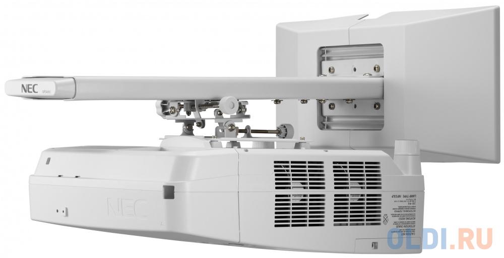 Фото - Проектор NEC UM351W 1280x800 3500 люмен 4000:1 белый проектор nec np um351w wk