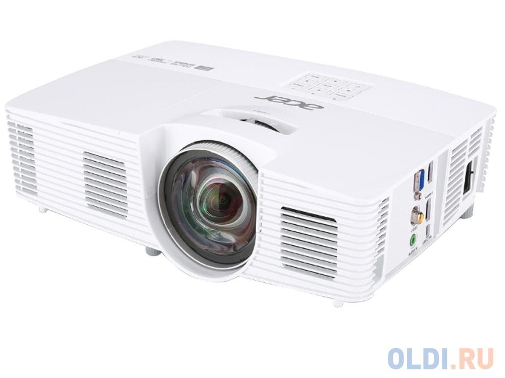 Фото - Проектор Acer H6517ST DLP 1920x1080 3000Lm 10000:1 VGA 2хHDMI USB MR.JLA11.001 проектор viewsonic ps750w dlp 3300lm 10000 1 3000час 2xusb typea 1xhdmi 6 1кг