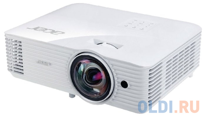 Проектор Acer S1286H DLP 3500Lm (1024x768) 20000:1 ресурс лампы:4000часов 1xHDMI 3.1кг проектор acer x138wh dlp mr jq911 001