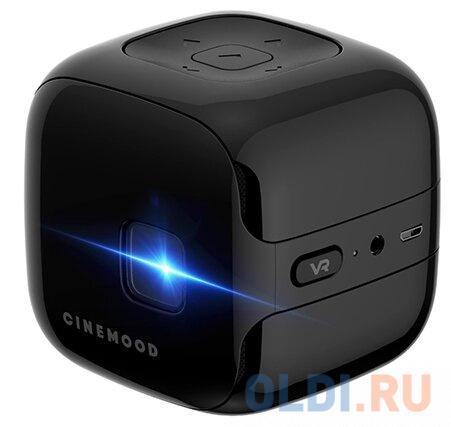 Фото - Проектор CINEMOOD Storyteller VR CNMD0019DM 640x360 35 люмен 1000:1 черный DKBK1M cinemood умный чехол для проектора cinemood hooplakidz