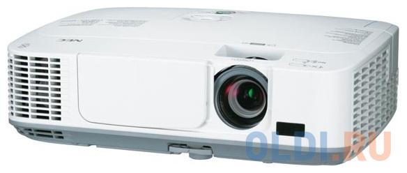 Фото - Проектор NEC UM361X LCD 1024x768 3600Lm 4000:1 VGA 2хHDMI USB Ethernet проектор nec np um351w wk