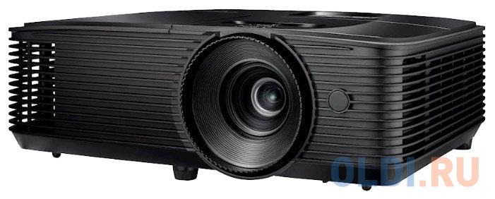Фото - Проектор Optoma S343e DLP, 3D Ready, SVGA (800*600), 3800 ANSI Lm, 22000:1; 15000ч/ 12000ч/10000ч/ 6000ч (Eco+/Dynamic/Eco/bright);+/- 40 vertical; HDMI x1; VGA IN x1;Audio IN x1;Compositex1; Audio OUT x1; USB-A (power 1A);VGA out;RS232;10W; 27 dB; 3 kg, casio era 200db 1a