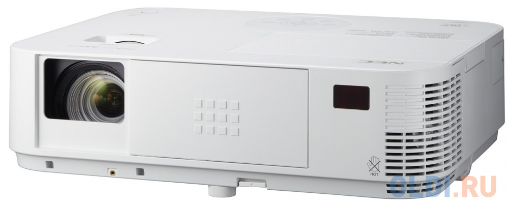 Фото - Проектор NEC M403H/G 1920х1080 4000 люмен 10000:1 белый проектор nec mc342x 1024x768 3400 лм 16000 1 белый