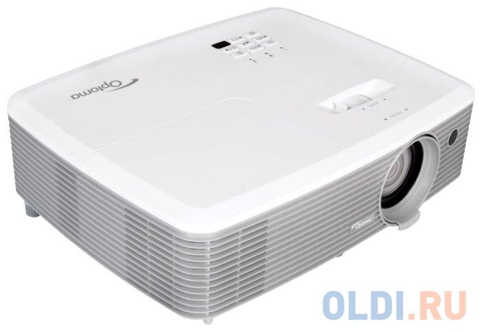 Проектор Optoma EH400 1920х1080 4000 люмен 22000:1 белый 95.78E01GC0E фото