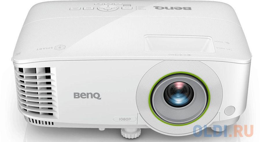 Проектор BENQ Benq EH600 1920х1080 3500 люмен 10000:1 белый 9H.JLV77.13E benq mh733