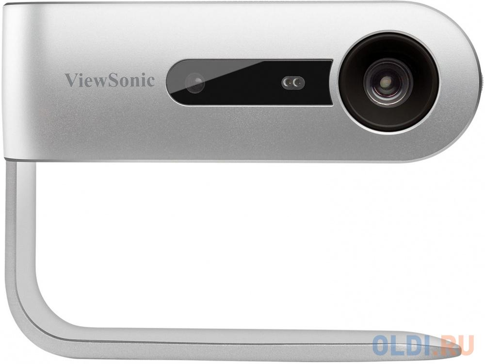 Проектор ViewSonic M1 854х480 250 люмен 120000:1 серебристый черный VS17337 viewsonic m1