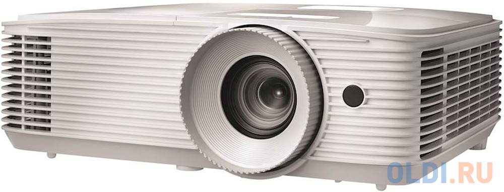 Проектор Optoma EH334 Full 3D;DLP, Full HD(1920x1080), 3600 ANSI Lm, 20000:1,16:9; TR=1.47:1 - 1.62:1; HDMI (1.4a 3D support) + MHL; VGAx1; Composite; AudioIN x1; VGA Out; Audio Out 3.5mm; RS232; USB-A (Power 1.5A);10Вт;27 dB; 2.91 kg (E1P1A0NWE1Z1)