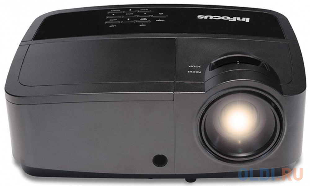 Проектор InFocus IN114x 1024x768 3200 люмен 15000:1 черный проектор infocus in116xa 1280x800 3800 люмен 26000 1 черный