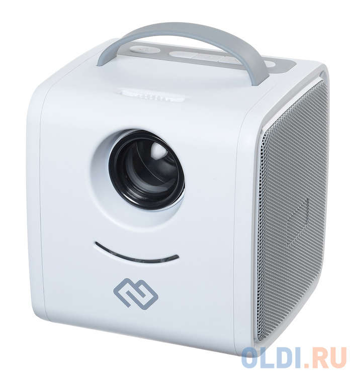 Мини-кинотеатр Digma DiMagic Kids plus battery белый/серый