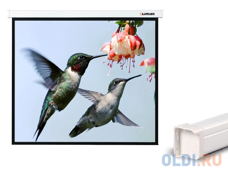 [LMC-100103] Экран с электроприводом Lumien Master Control 203x203 см Matte White FiberGlass lumien master control 203x203 mw fiberglass lmc 100103