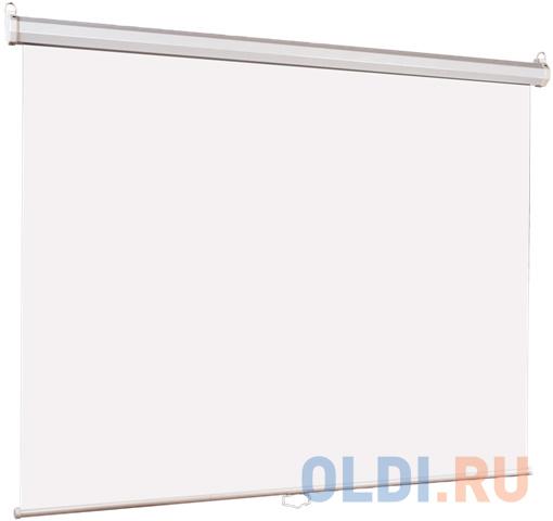 Фото - [LEP-100101] Настенный экран Lumien Eco Picture 150х150 см Matte White, восьмигранный корпус, возм. потолочн-настенного крепления (ТРЕУГОЛЬНАЯ уп) брелок фонарик двусторонний зеленый корпус индивид стикер lbf1303 gn