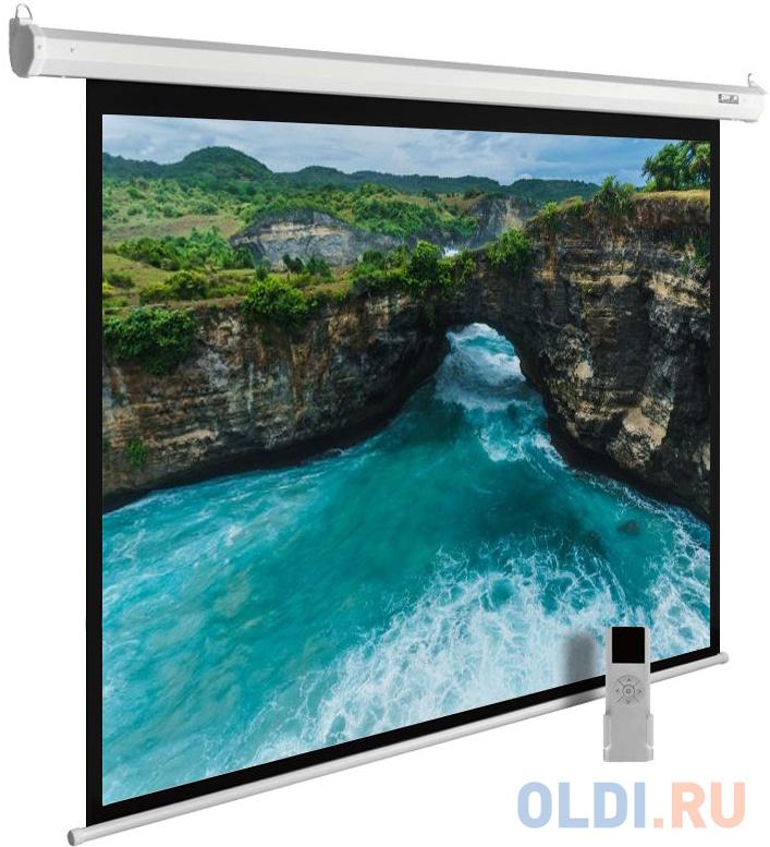 Фото - Экран настенно-потолочный Cactus CS-PSME-200X150-WT 150 x 200 см экран переносной на штативе brauberg tripod 150 x 150 см 236729