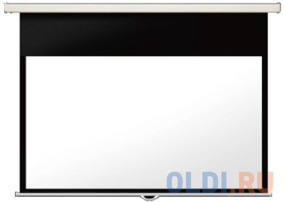 [LMP-100103CSR] Настенный экран Lumien Master Picture CSR 165x213см (раб.область 152х203 см) (100) Matte White черн. кайма по периметру, механизм плавного возврата, возможность потолочн./настенного крепления (белый корпус) 4:3 [lep 100101] настенный экран lumien eco picture 150х150 см matte white восьмигранный корпус возм потолочн настенного крепления треугольная уп