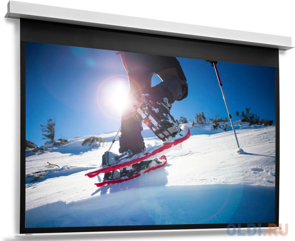 [10104764] Экран Projecta DescenderPro 128х220см (раб.обл. 118х210 см) (95) Matte White с эл/приводом 16:9.