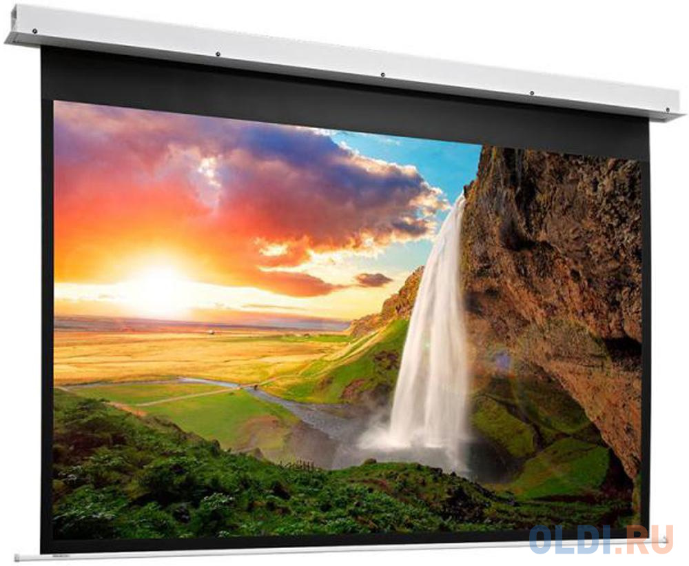 [10100870] Экран Projecta Descender Electrol 191x300 см (135) Matte White с эл/приводом доп. черная кайма 20 см 16:10.