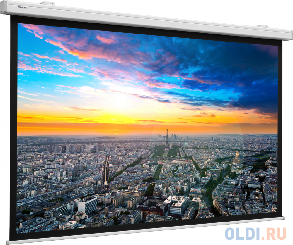 [10102478] Экран Projecta Compact Electrol 191х300 см (135) Matte White с эл/приводом 16:10.